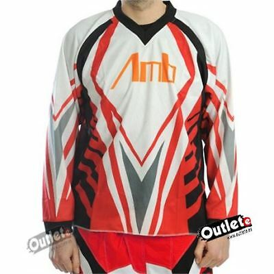 Camiseta Enduro Amb Off Road Rojo
