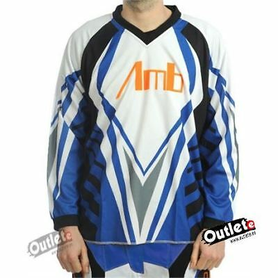 Camiseta Enduro Amb Off Road Azul