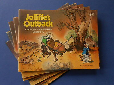 ### Jolliffe's Outback Cartoons & Australiana Number 114 Comic - Jolliffe