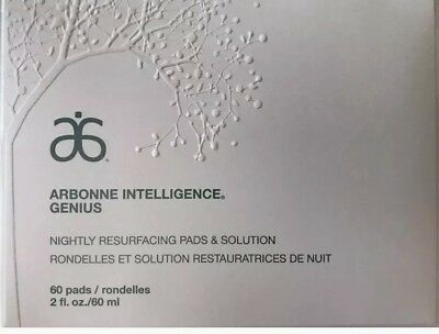 RRP$145 Arbonne Genius Nightly Resurfacing Pads & Solution Scarring Pigment