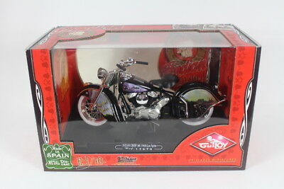 Guitoy G17670  Indian Chief 348 ( 1948 ) Low Spirits, 1:10 Scale Motor Bike.