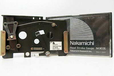 Nakamichi M-9035 Head Stroke Gauge Calibration Tool For Cassette Deck