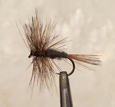 The Adams - Dry Fly Fishing Flies - 6 X Size #18 Flies