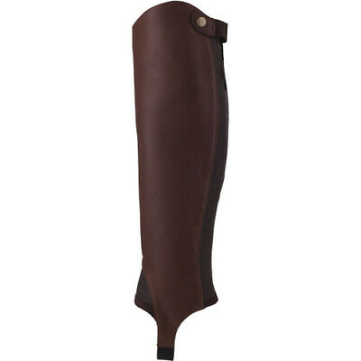 Ariat Close Contact Half Womens Footwear Chaps - Waxed Chocolate All Sizes