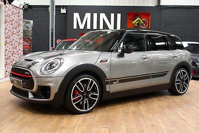 Mini Clubman John Cooper Works All4 Silver Auto Petrol 2016