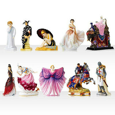 Royal Doulton ICON 100 Years of HN FIGURINES  - Set of 10- NEW / Boxed