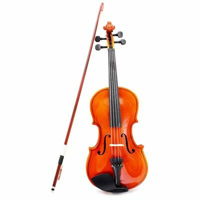 1/4 Size Violin Fiddle Basswood Steel String Arbor Bow for 6-8 Beginners P2X1 N8