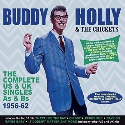 Buddy Holly The Complete Us & Uk Singles 1956-62 2 Cd New