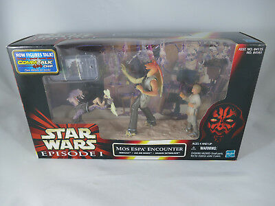 Star Wars Episode 1 Mos Espa Encounter Sebulba Jar Jar Binks Anakin Misb