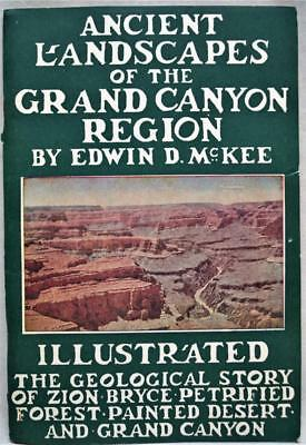 ANCIENT LANDSCAPE OF THE GRAND CANYON REGION BY EDWIN D. MCKEE 1950 12th EDITION