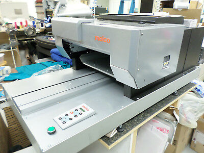 Melco G3 DTG (Direct To Garment) Textile Printer with Heat Press, extra fluids