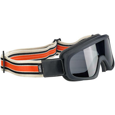 Biltwell Overland 2.0 Racer Goggle - Black / Orange **Brand New & In Stock**