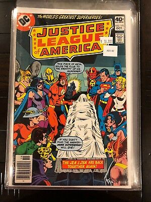 Justice league of america JLA: Crisis Above Earth-One #171 High Grade A01-43