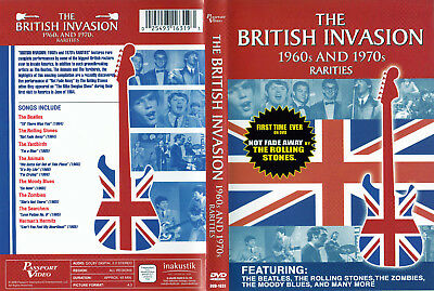 The British Invasion 1960s & 1970s Rarities / Various Artists - DVD von 2006 - !