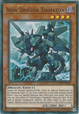 Yu-Gi-Oh: IRON DRAGON TIAMATON - FLOD-EN032 - Ultra Rare Card