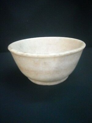 Old White Marble Stone Fine Quality Unique Handcrafted Bowls
