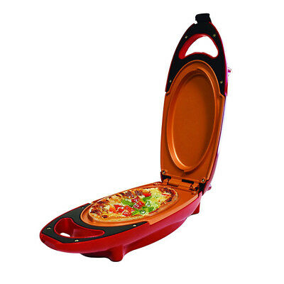 Hot Red Copper 5-Minute Chef - Omelette Pan The Non-stick Omlette Maker Cooker@@