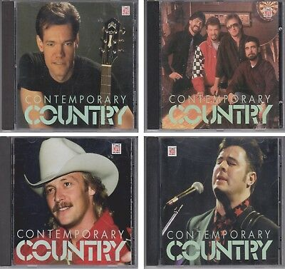 Contemporary Country MID-LATE 80s & EARLY-MID 90s Various Artists TIME LIFE 4 CD