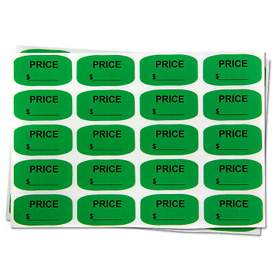"""Blank Price Stickers Garage Sale Store Clearance Retail Labels (0.75""""x1.38"""",1PK)"""