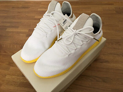 big sale 7e48e 3969c Adidas Pw Tennis Hu Pharrell Williams Human Race Nmd White Yellow By2674 46