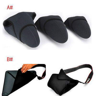 Neoprene Waterproof Camera Bag Case Cover Pouch Protector For Canon Nikon DSLR