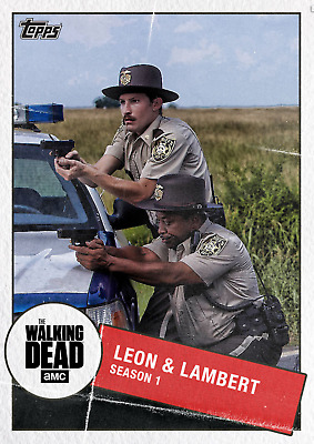 TOGETHER MARATHON WAVE1 LEON & LAMBERT The Walking Dead Trader Digital Card