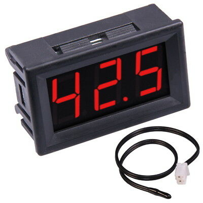 led thermometer 2 f hler sensoren 20 70 c. Black Bedroom Furniture Sets. Home Design Ideas