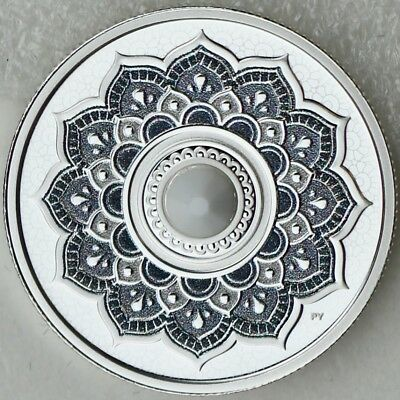 Canada 2018 $5 June Birthstone - Pure Silver Proof Coin with Swarovski Crystal