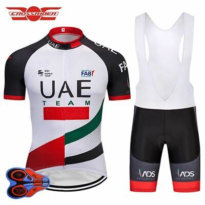 UAE RETRO Cycling BIKE Jersey Shirt Tricot Maillot Bib Kit 2360f8c0d