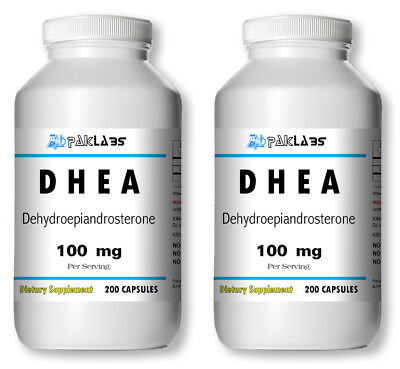 Best Dhea Supplement 2020 2 X DHEA 100mg 400 Capsules 6 Month Supply Diet Supplement