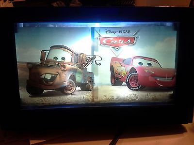 disney pixar cars lighted motion picture night lamp