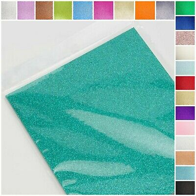 A4 Glitter Card. Coloured Cardstock Premium Quality Low Non Shed 250gsm Crafts