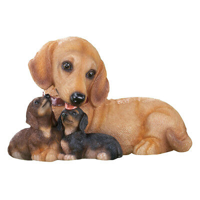 Dachshund Dog Family Mama U0026 Puppies Outdoor Garden Statue, By Collections  Etc