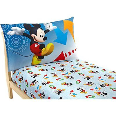 Disney Mickey Mouse Adventure Day 2-Piece Toddler Sheet Set