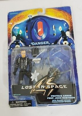 Lost in Space Prof. John Robinson w/Magnet Attack Power Chomp Spider Preowned