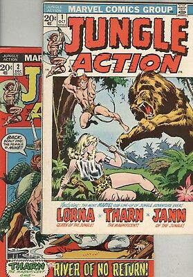 Jungle Action #1, #2, and #3