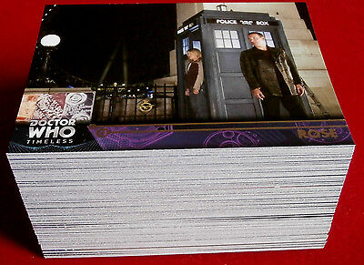DOCTOR WHO - TIMELESS - Complete Base Set (100 cards) - TOPPS, 2016