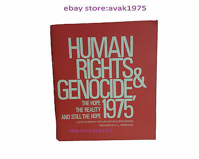 Human rights & Genocide 1975 prepared by V.L Parsegian (Paperback 1975).