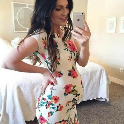Womens Dresses Prom Plunging Photography Skinny Evening Maternity Plus Size US