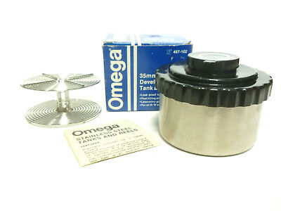 Omega 35mm Film Developing Tank and Reel