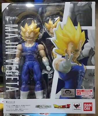 Tamashii Bandai Dragonball Z S.H.Figuarts Majin Vegeta Japan Version in stock!