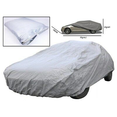 100% Waterproof M Full Car Cover Heavy Duty Breathable UV Protection Universal