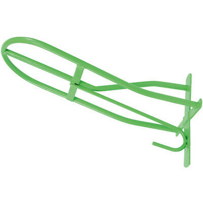 Shires Standard Unisex Stable And Yard Saddle Rack - Green One Size
