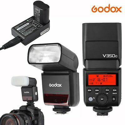 Godox V350C 2.4G TTL HSS Flash Light Speedlite for Canon w/ Battery & Charger US