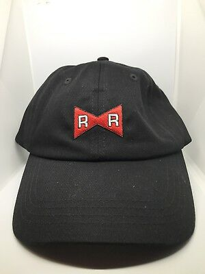 Dragon Ball Z Red Ribbon Army Chocoolate Dad Hat Official Merchandise 2a80f5aca20