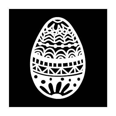 """Template 4x4"""" 10x10cm easter egg"""