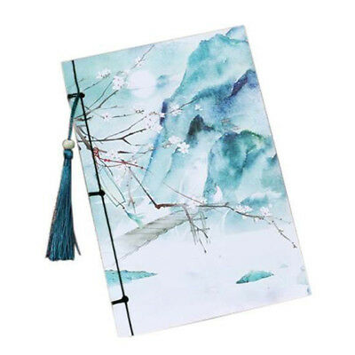 Vintage tassel Notebook Vintage Style Notebook Diaries Notebook with Tassel O8C5