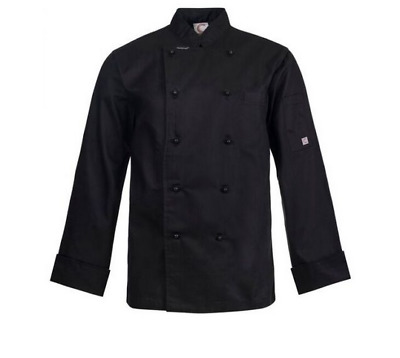 Executive Chefs Jacket - Long Sleeve - Size Small