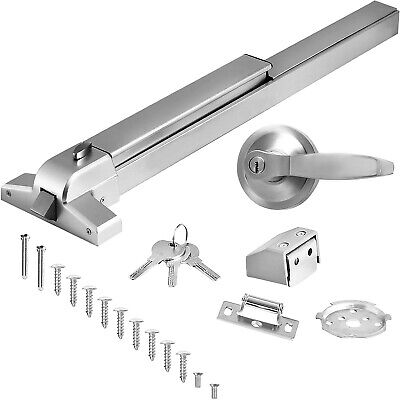 Door Push Bar-Panic Exit Device Lock With Handle Emergency Hardware Fast