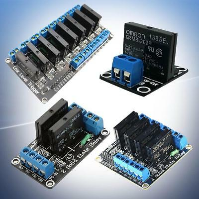 5V 1/2/4/8 Channel OMRON SSR G3MB-202P Solid State Relay Module For Arduino